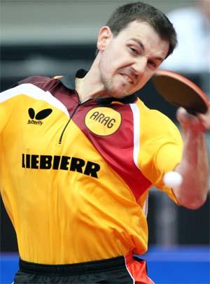 Тимо Болл - надежда Германии на командный Кубок Мира Liebherr